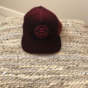 Stussy Velvet Strap-back Hat